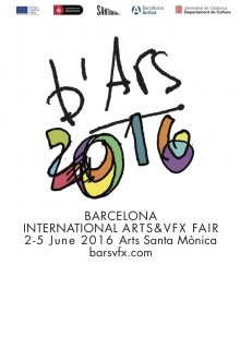 b'Ars. Barcelona International Arts & VFX Fair